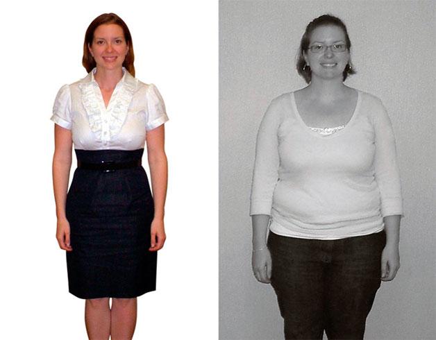 Результат диеты на правильном питании