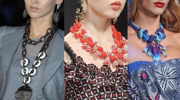 красивые модные шейные украшения